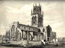 All Saints Pontefract in the 19th Century